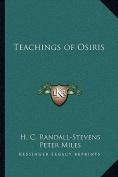 Teachings of Osiris