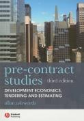 Pre-Contract Studies