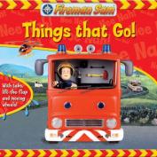 Things That Go! (Fireman Sam) [Board book]