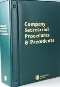 Butterworths Company Secretarial Procedures and Precedents