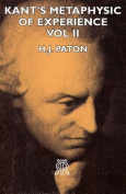 Kant's Metaphysic of Experience - Vol II