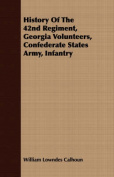 History of the 42nd Regiment, Georgia Volunteers, Confederate States Army, Infantry