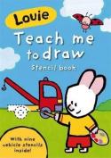 Teach Me to Draw Stencil Book