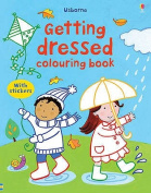 Getting Dressed Colouring Book with Stickers