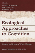 Ecological Approaches to Cognition