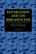 Separation and Its Discontents Toward an Evolutionary Theory of Anti-Semitism