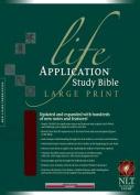 Life Application Study Bible-NLT-Large Print [Large Print]