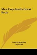 Mrs. Copeland's Guest Book