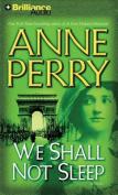 We Shall Not Sleep (World War One Novels  [Audio]