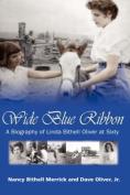 Wide Blue Ribbon