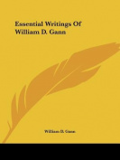 Essential Writings of William D. Gann