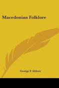 Macedonian Folklore