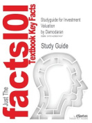 Studyguide for Investment Valuation by Damodaran, ISBN 9780471414889