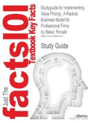 Studyguide for Implementing Value Pricing
