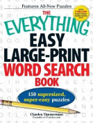 The Everything Easy Large-Print Word Search Book [Large Print]
