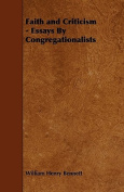 Faith and Criticism - Essays by Congregationalists