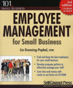 Employee Management for Small Business [With CDROM]