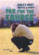 Par for the Course