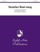 Venetian Boat-Song Alto Sax/Keyboard