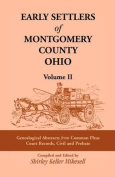 Early Settlers of Montgomery County, Ohio