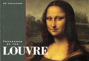 Treasures of the Louvre Postcard Book