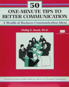 50 One-Minute Tips for Better Communication