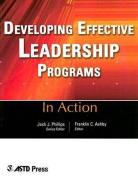 Developing Effective Leadership Programs