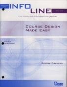 Course Design Made Easy