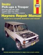 Isuzu Trooper and Pick-up (81-93) Automotive Repair Manual