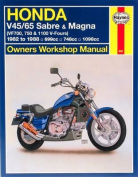 Honda V45/65 Sabre and Magna (VF700, 750 and 1100 V-Fours)