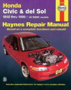 Honda Civic and Del Sol Automotive Repair Manual