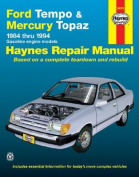 Ford Tempo and Mercury Topaz (1984-94) Automotive Repair Manual