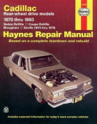 Cadillac RWD (1970-93) Automotive Repair Manual