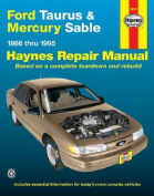Ford Taurus & Mercury Sable (86-95) Automotive Repair Manual
