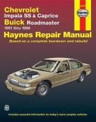 Chevrolet Impala SS and Caprice, Buick Roadmaster (1991-96) Automotive Repair Manual