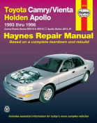 Toyota Camry/Vienta and Holden Apollo Australian Automotive Repair Manual