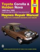 Toyota Corolla and Holden Nova Australian Automotive Repair Manual