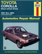 Toyota Corolla (Rear Wheel Drive) Australian Automotive Repair Manual