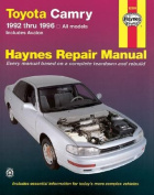 Toyota Camry (1992-1996) Automotive Repair Manual