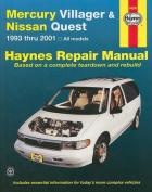 Mercury Villager and fits Nissan Quest Automotive Repair Manual