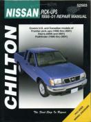 Chilton fits Nissan Pick-ups (98-01) Repair Manual