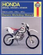 Honda XR250L, XR250R and XR400R