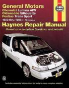 GM Chevrolet Lumina APV, Oldsmobile Silhouette, Pontiac Trans Sport Automotive Repair Manual