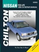 fits Nissan Pick-Ups Repair Manual