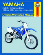 haynes yamaha 2-stroke motocross bikes 1986-2006