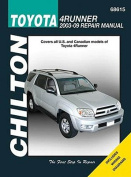 Chilton's Toyota 4Runner 2003-09 Repair Manual