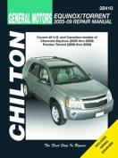 Chevrolet Equinox & Pontiac Torrent Automotive Repair Manual (Chilton)