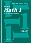 Math 1 1e Homeschool Teacher Edition