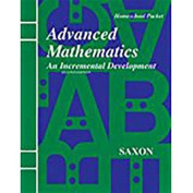 Saxon Advanced Math Home Study Kit Second Edition