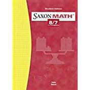 Saxon Math 8/7